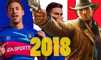 Charts France : FIFA 19 et Red Dead Redemption 2 sont les meilleures ventes en 2018, le SELL fait le bilan