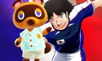 Charts France : Animal Crossing revient dans la course, devançant Captain Tsubasa