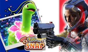 Charts France : New Pokémon Snap prend le pouvoir, Returnal débarque en 2e position