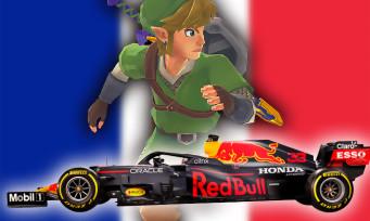 Charts France : Zelda Skyward Sword et F1 2021 consolident leur place