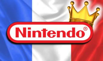 Charts France : Nintendo a retrouvé sa domination totale, un Top 5 classique