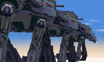 Si Star Wars VIII Les Derniers Jedi était un jeu 16-bit...