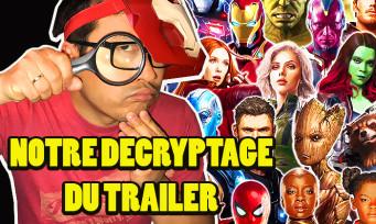 Avengers Infinity War : indices, fuites, Easter Egg, on a décortiqué à la loupe le dernier trailer