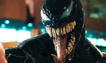 Venom : voici le 1er trailer où l'on voit Tom Hardy se transformer et utiliser ses pouvoirs