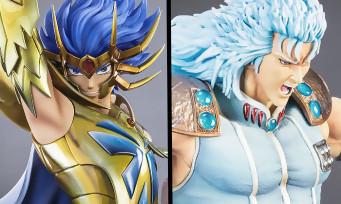 Deathmask (Saint Seiya) et Rei (Hokuto no Ken) arrivent chez TSUME et les figurines sont magnifiques !