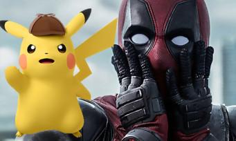 Détective Pikachu le film : on sait qui fera la voix de Pikachu et il a un rapport avec Deadpool