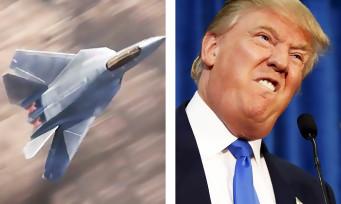 Call of Duty : quand Donald Trump vend des avions qui n'existent que dans le jeu