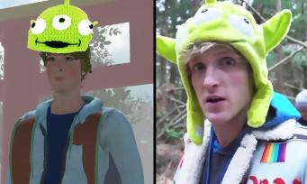 Logan Paul : un jeu vidéo parodique où l'on incarne le YouTubeur dans la forêt du suicide est sorti