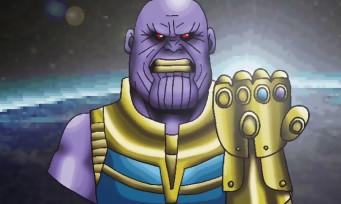 Avengers Infinity War : quand le film se transforme en JRPG old school, voici ce que ça donne