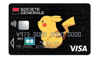 Pokémon : la Société Générale propose des CB aux couleurs de Pikachu !
