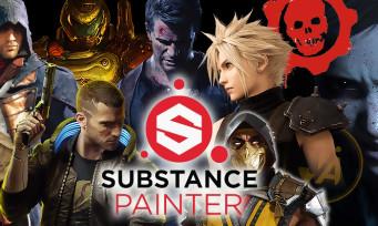 Substance Painter : le logiciel français que tous les jeux (The Last of Us 2, Cyberpunk 2077) utilisent pour leurs graphismes