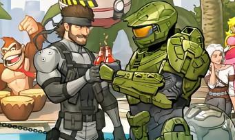 Une immense et sublime fresque réunissant tous les héros de jeux vidéo, l'ultime cross-over
