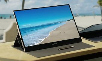 ViewSonic : le fabricant annonce un nouveau moniteur portable, une version tactile prévue