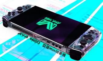 Aya Neo : une nouvelle console portable vient de sortir, puissance, prix, tous les détails
