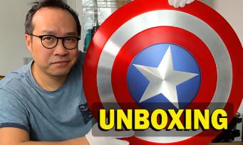Falcon & le Soldat de l'Hiver : notre unboxing du bouclier de Captain America en métal de chez Cattoys