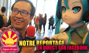 Japan Expo 2017 : cosplay, figurines, jeux vidéo, 1h30 de reportage en direct sur Facebook