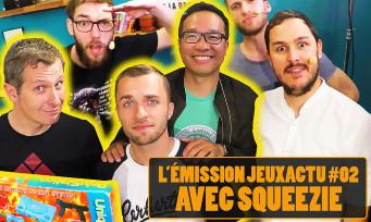 L'ÉMISSION JEUXACTU #02 : Squeezie nous a accompagnés pendant 1h30 en live sur Twitch