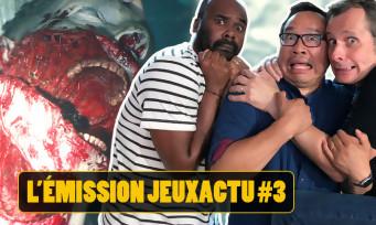 L'ÉMISSION JEUXACTU #03 : on joue notamment à Resident Evil 2 Remake sur PS4