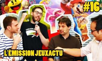 L'ÉMISSION JEUXACTU #16 : Olivier Derivière en invité, le test de Super Smash Bros Ultimate, débat sur les Game Awards