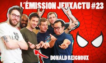 L'ÉMISSION JEUXACTU #23 : Donald Reignoux (la voix française de Spider-Man et de Titeuf) est notre invité !