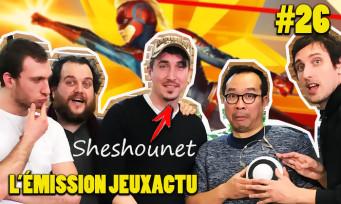 L'ÉMISSION JEUXACTU #26 : trashtalk avec Sheshounet, quiz musical JV et critique Captain Marvel