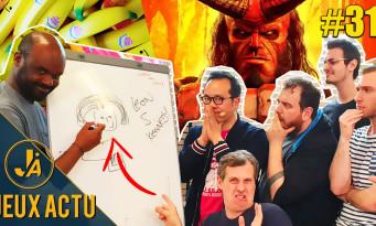 L'ÉMISSION JEUXACTU #31 : on joue à My Friend Pedro, on étrille Hellboy avec FilmsActu, les jeux canapé de Marcus
