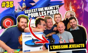L'ÉMISSION JEUXACTU #35 : on teste le 3DRudder le pad VR pour les pieds, John Wick 3 et les influences du jeu vidéo