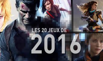 L'année 2016 du jeu vidéo en une infographie