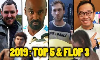 2019 : Top 5 & Flop 3 de Jeuxactu, l'une des pires années jeu vidéo de la décennie ?