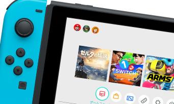 Nintendo Switch : découvrez l'interface de la console dans cette vidéo de 22 minutes