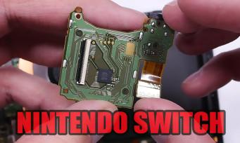 Nintendo Switch : il démonte entièrement la console pour nous révéler ses entrailles !