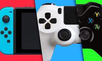 Nintendo Switch : un adaptateur pour utiliser les manettes PS4 et Xbox One, mais pas que