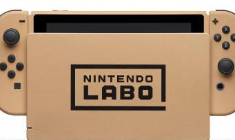 Nintendo Switch : une console en carton customisée Nintendo Labo à gagner