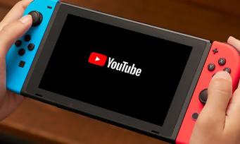 Nintendo Switch : l'application YouTube est enfin disponible sur la console