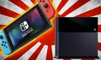 Switch : la console s'est plus vendue que la PS4 standard au Japon, un score impressionnant