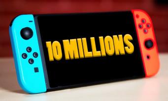 Nintendo Switch : 10 millions de consoles vendues au Japon, ça force le respect