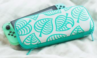 Nintendo Switch : une console collector aux couleurs d'Animal Crossing New Horizons, elle est superbe