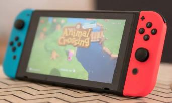 Switch : bientôt 70 millions de consoles vendues, Nintendo s'en frotte les mains