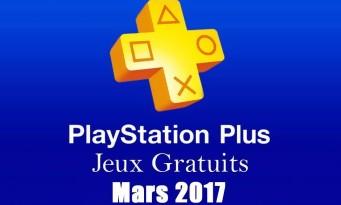 PS Plus : voici la liste complète des jeux gratuits en mars 2017