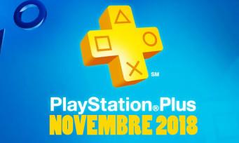 PlayStation Plus : découvrez les jeux du mois de novembre, 2 remasters au programme