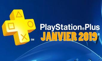 PlayStation Plus : on connait les deux gros jeux de janvier, un trailer pour fêter ça