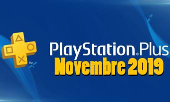 PlayStation Plus : voici les jeux de novembre, katana et grosse flippe au programme