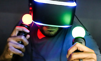 project morpheus trailer du casque virtuel de la ps4. Black Bedroom Furniture Sets. Home Design Ideas