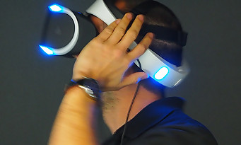 project morpheus le casque de la ps4 en pleine action. Black Bedroom Furniture Sets. Home Design Ideas