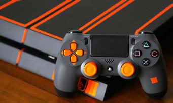 PS4 : notre unboxing de la console orange & noire Call of Duty Black Ops 3