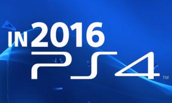 exclu ps4 2016