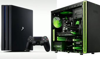 PS4 Pro : selon Sony, elle a été fabriquée pour contrer le PC et non la Xbox One Scorpio