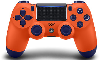 PS4 : une nouvelle DualShock 4 Sunset Orange, mais elle ne sortira pas en France