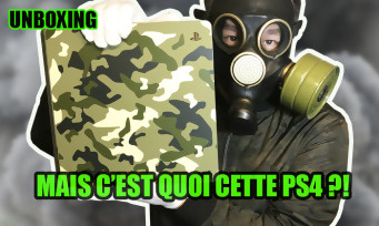 PS4 : on unboxe la console camouflage Call of Duty WW2, son look est-il vraiment raté ?