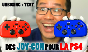Hori Mini Gamepad : on unboxe et on teste les Joy-Con de la PS4